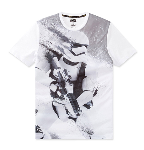 celio t-shirt Star Wars  coton 19,99€ (7)