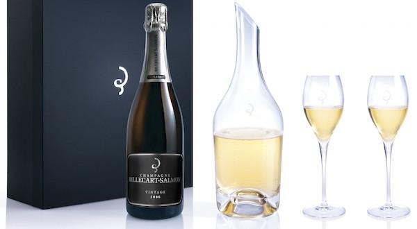 Le champagne Billecart-Salmon dévoile sa carafe pour exalter ses saveurs