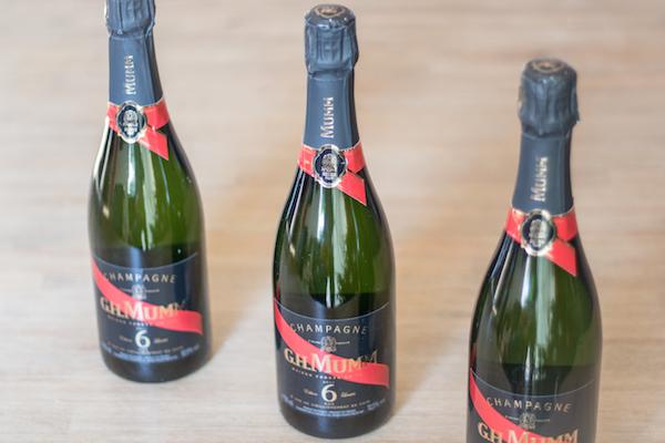 champagne Coffret Mumm Édition limitée 6 ans 3 bouteilles