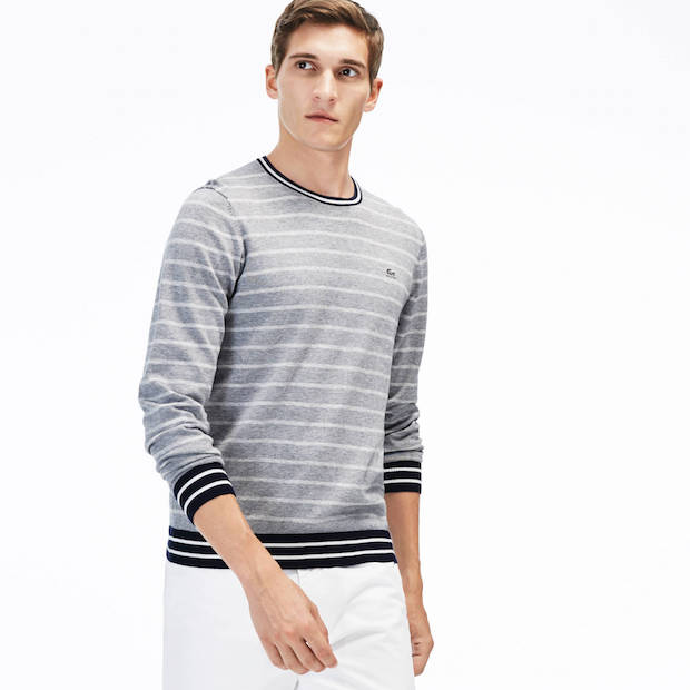idee-cadeau-homme-pull-lacoste-col-rond