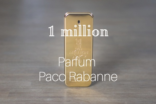 Parfum One Million avis paco rabanne