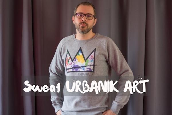 avis sweat urbanik art homme mode tendance