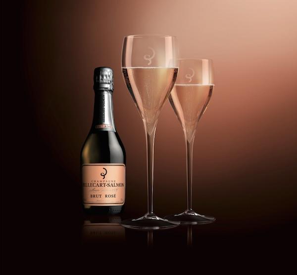 champagne Billecart Demi Brut Rosé