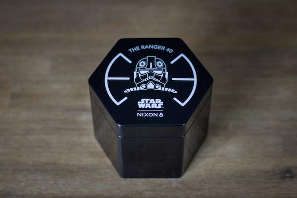 montre star wars nixon ranger 40 avis test boite
