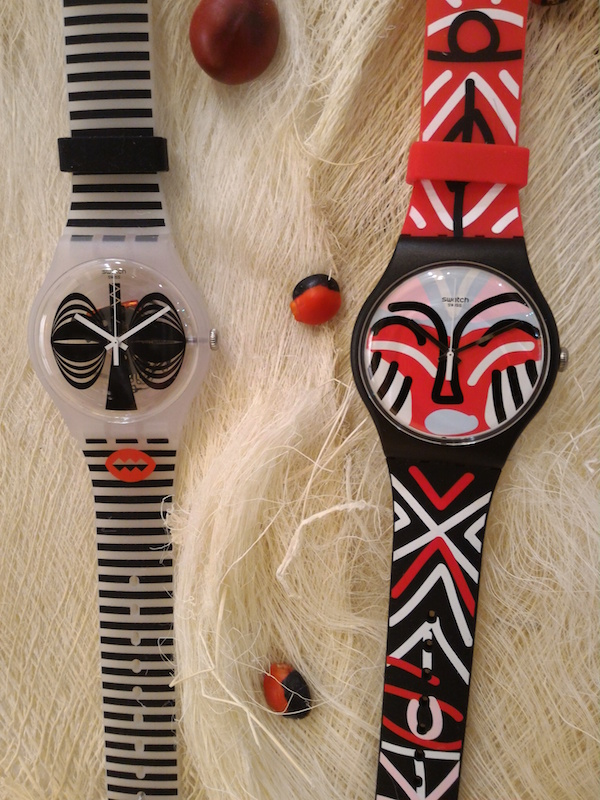 montre swatch collection printemps été 2016 Maskara et Mask Parade - collection Africana