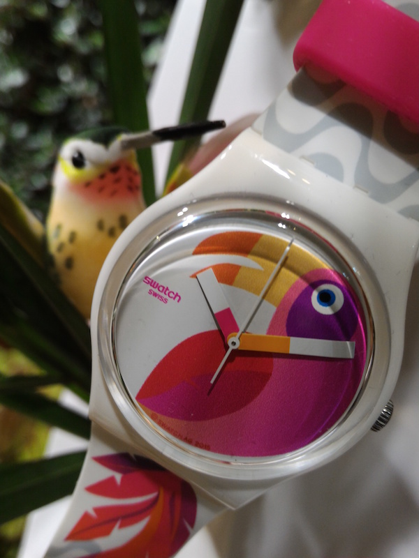 montre swatch collection printemps été 2016 Papagaye - collection beach swing