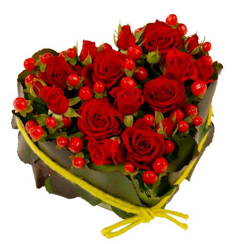 offrir fleurs saint valentin coeur gentleman moderne. Black Bedroom Furniture Sets. Home Design Ideas