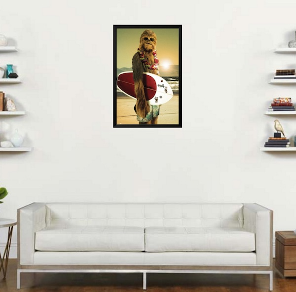 poster-chewbacca-surfeur-star-wars