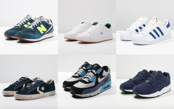 sélection soldes zalando 2016 sneakers