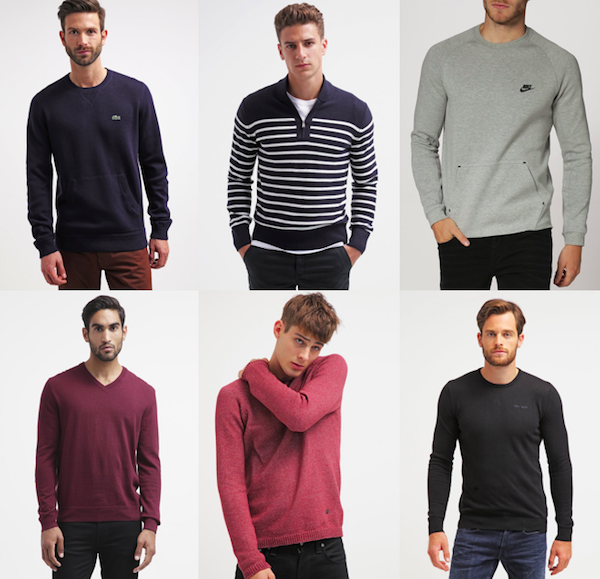selection soldes zalando 2016 pull homme