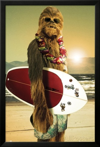 star-wars-poster-chewbacca-surfeur