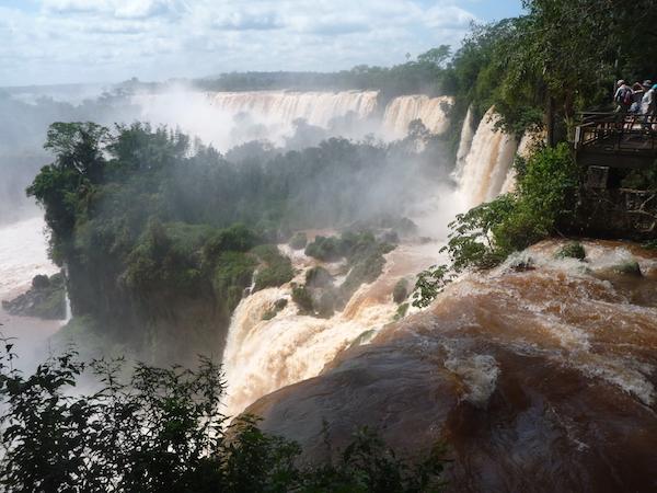 voyage bresil chutes d'iguazu