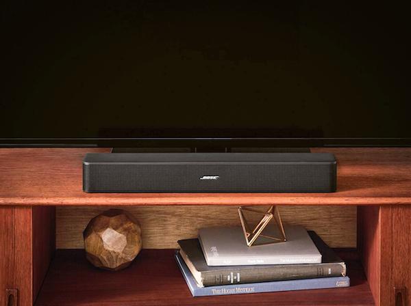 Bose Solo 5 test avis barre de son ecran