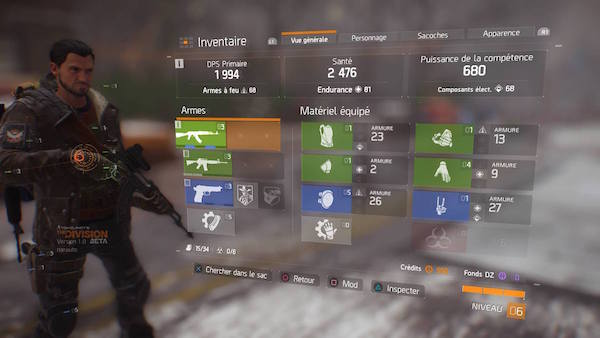 Tom Clancys The Division avis beta test