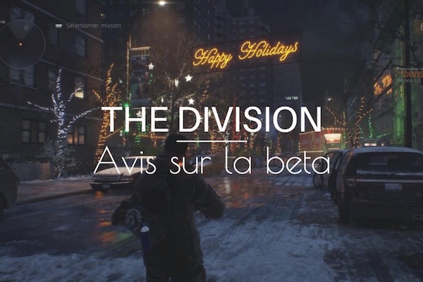 Tom Clancys The Division avis beta