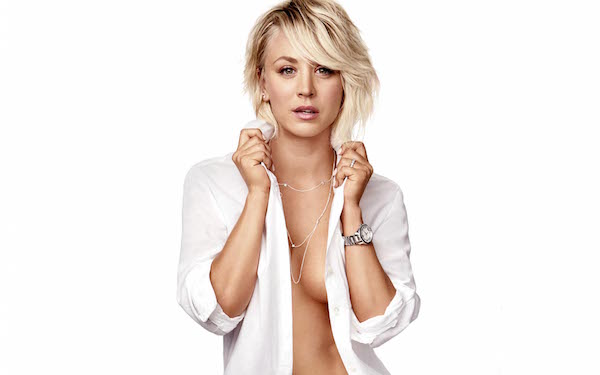 actrice serie sexy kaley cuoco-Nue seins bing bang theory