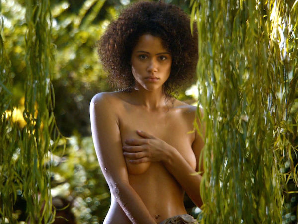 actrice serie sexy nathalie emmanuel-Nue seins game of thrones