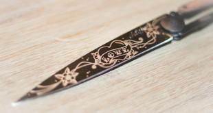 couteau deejo couteau personnalisable test avis lame tatouage
