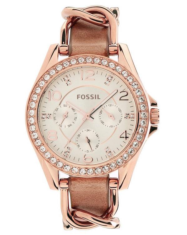 idée cadeau copine saint valentin montre fossil