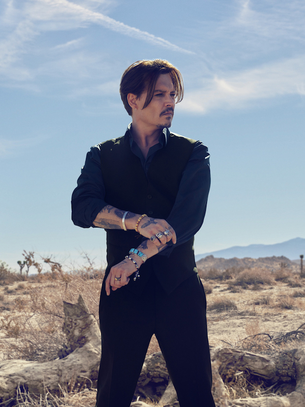 look johnny depp dior sauvage tenue vetement style rock classe