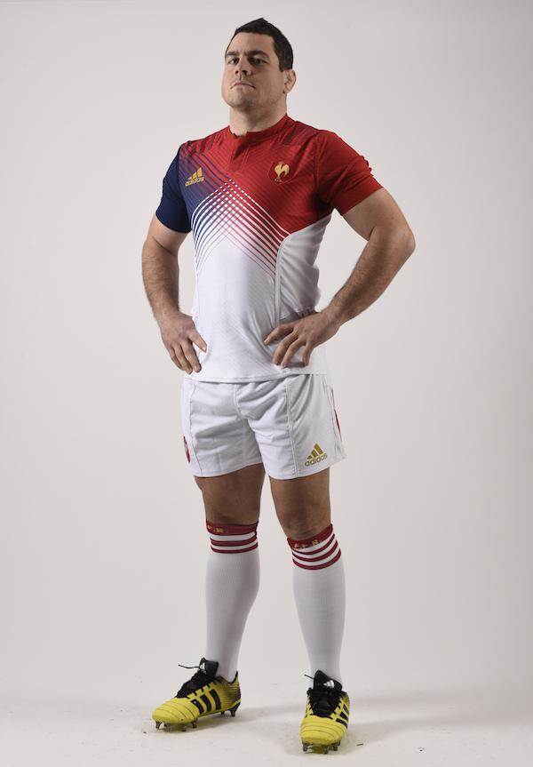 maillot de l'équipe de France de Rugby exterieur