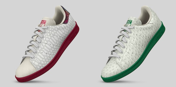 stan smith personnalisee cuir