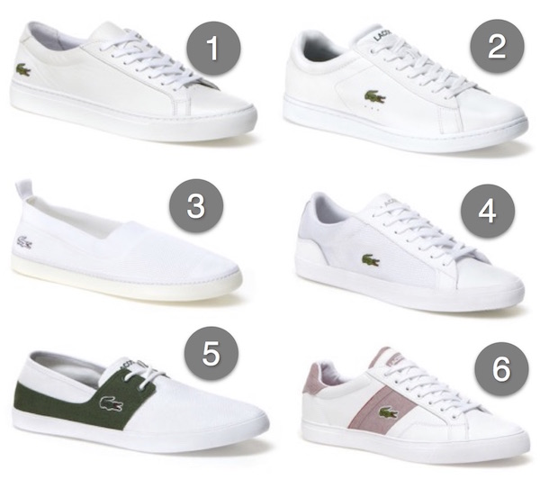 chaussure lacoste homme blanches 2016
