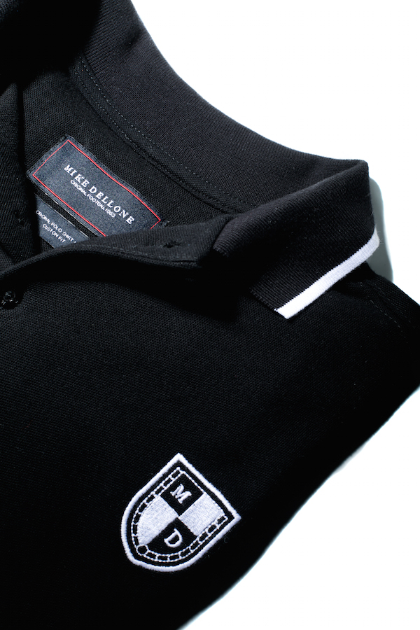 polo homme mike dellone detail
