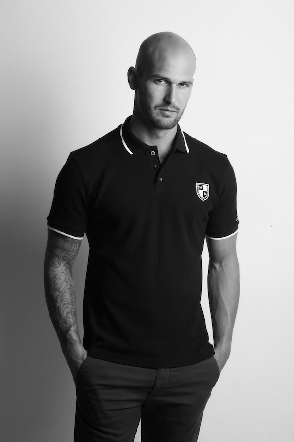 polo homme mike dellone football