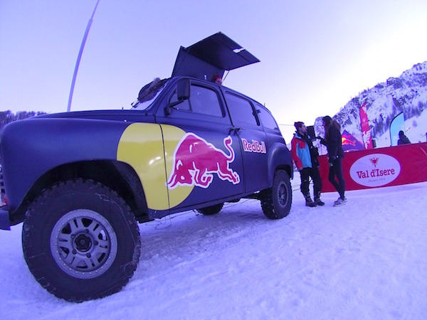 GEM Altigliss challenge de Val d-Isere red bull