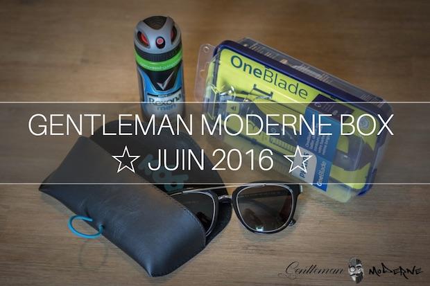 Gentleman Moderne Box juin 2016