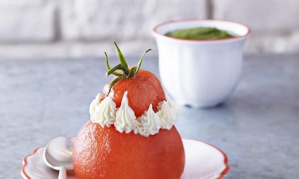 Privé de dessert Tomate Mozzarela