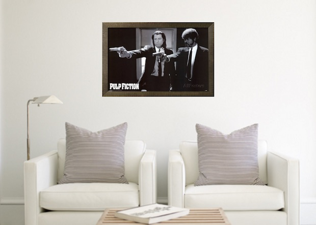 les meilleurs posters de films cultes gentleman moderne. Black Bedroom Furniture Sets. Home Design Ideas