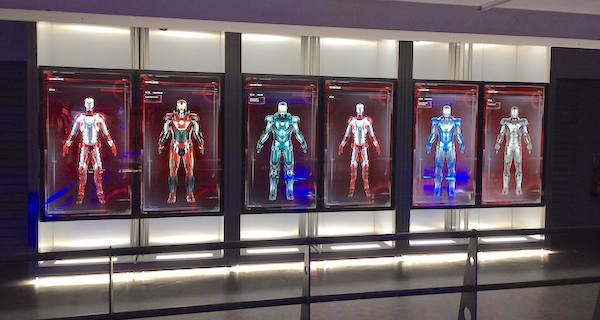 avengers-station-exposition armure iron man