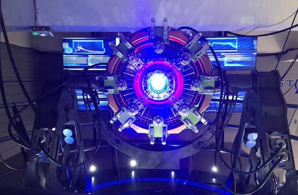 avengers-station-exposition reacteur arc