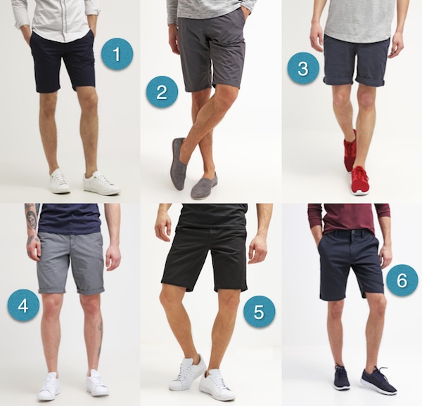 shorts homme 2016