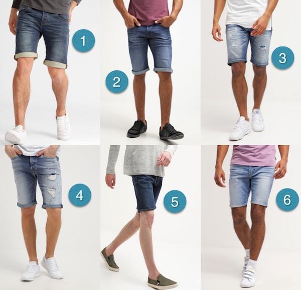 comment choisir un short en jean homme