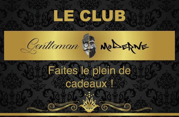 le club gentleman moderne cadeaux