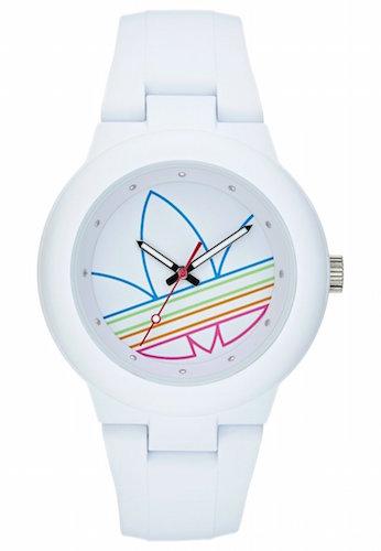 montre blanche homme adidas aberdeen
