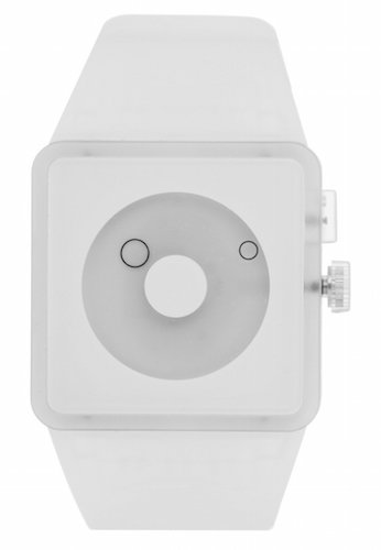 montre blanche nixon newton