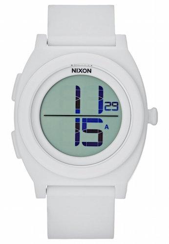 montre blanche nixon
