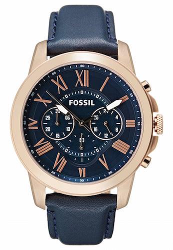 montre homme fossil blau