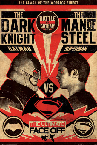 poster de film culte batman-vs-superman