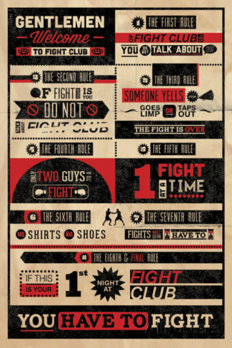 poster film regles-du-fight-club