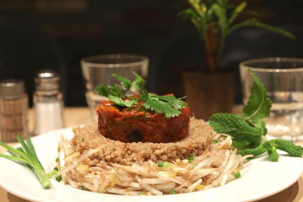 spicy home paris fusion food CHAUD FROID RATATOUILLE ET QUINOA