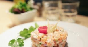 spicy home paris fusion food TARTARE DE SAUMON AU GINGEMBRE