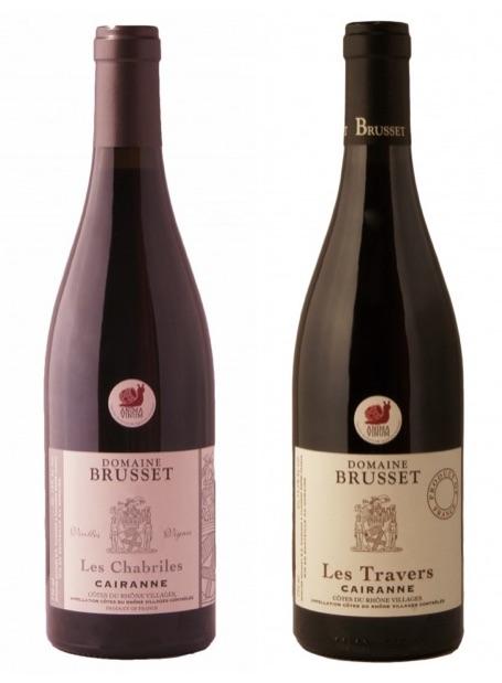 Domaine Brusset vin