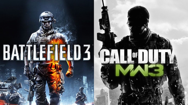 battlefield 1 contre call of duty infinite warfare