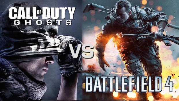 call of duty ou battlefield
