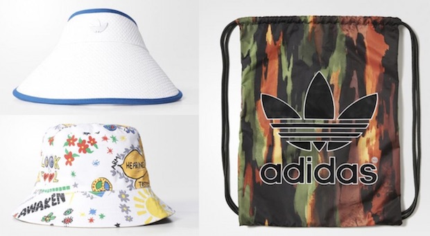 chapeau bob sac pharrell williams adidas dream awaken